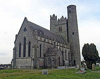 Church and Round Tower at Lusk - geograph.ie - 1833150.jpg