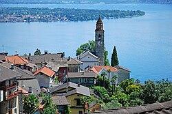 Church and village of Ronco sopra Ascona.jpg