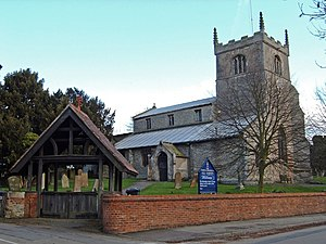 Collingham, Nottinghamshire - Church of All Saints, North Collingham