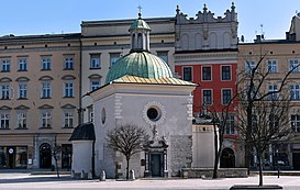 Church of St. Adalbert (Wojciech), 2 Main Market square, Old Town, Krakow, Poland.jpg