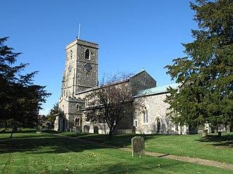 Aldbury - Parish Church of St. John The Baptist, Aldbury