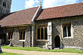 Church of St Christopher, Willingale, Essex, England - exterior chancel and nave from the south.JPG