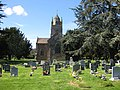 Churchyard, St. Michael and All Angels - geograph.org.uk - 1247508.jpg