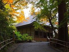 Chuson-ji Former Konjikido Pod Hall 01.jpg