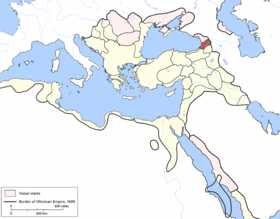 Location of Çıldır Eyaleti