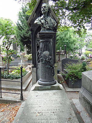 Louis Diémer - His grave in the Montmartre Cemetery.