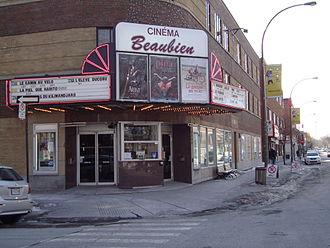 Cinema of Quebec - Cinéma Beaubien in Montreal