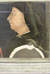 Retrato de Filippo Brunelleschi