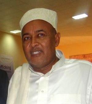 Abdirahman Mohamed Abdullahi - Abdullahi in 2010