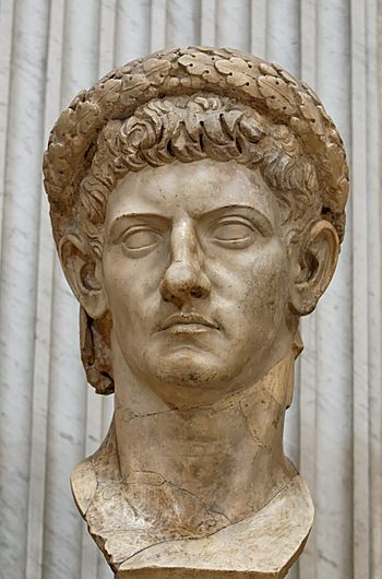 Bust of Roman emperor Claudius (reworked from ...
