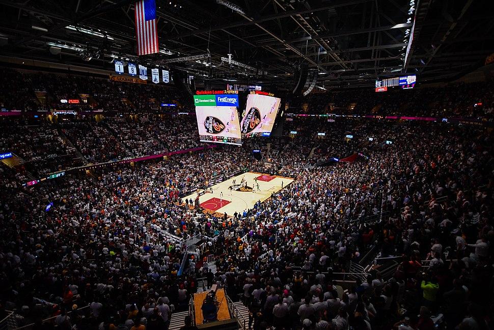 Cleveland Cavaliers vs. Boston Celtics (37559832030)