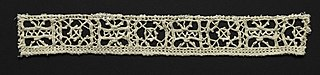 Needlepoint (Reticella) Lace Insertion