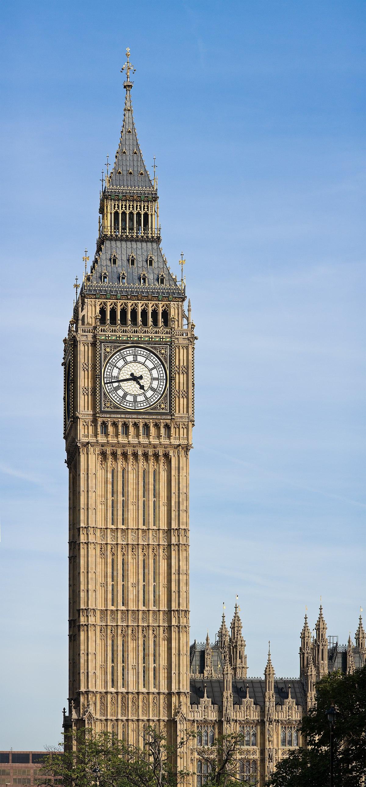 orologio famoso di londra