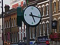 Clock by Sutton station, SUTTON, Surrey, Greater London - Flickr - tonymonblat.jpg