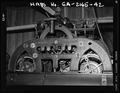 Clock mechanism, back - Savannah City Hall, Bay and Bull Streets, Savannah, Chatham County, GA HABS GA,26-SAV,61-42.tif