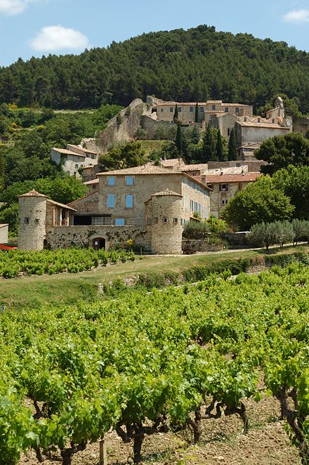 Wine estate near Vaison-la-Romaine Clos des Tourelles.jpg
