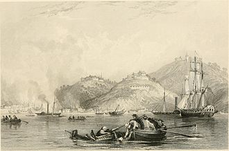 Battle of Chapu - Image: Close of the attack on Chapoo