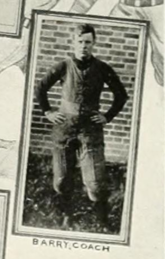 James H. Barry - Image: Coach James Barry