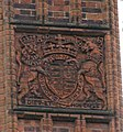 Coat of Arms on Chimney at Kew Gardens - geograph.org.uk - 1194862.jpg