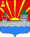 Coat of arms of Dzerzhinsky (Moscow oblast) 1989.png