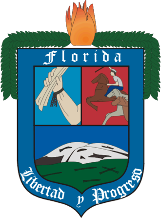 Florida Department - Image: Coat of arms of Florida Department