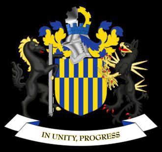Metropolitan Borough of Gateshead - Image: Coat of arms of Gateshead Metropolitan Borough Council