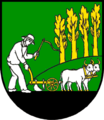 Coat of arms of Ruskov.png