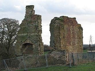 Codnor Castle - Image: Codnor castle 01
