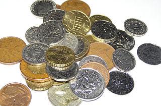 Kleingeld ist Bargeld in Form