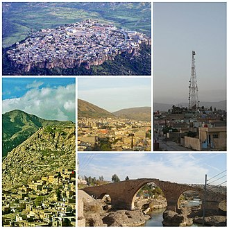 Dohuk Governorate - Image: Collage of Dohuk Governorate