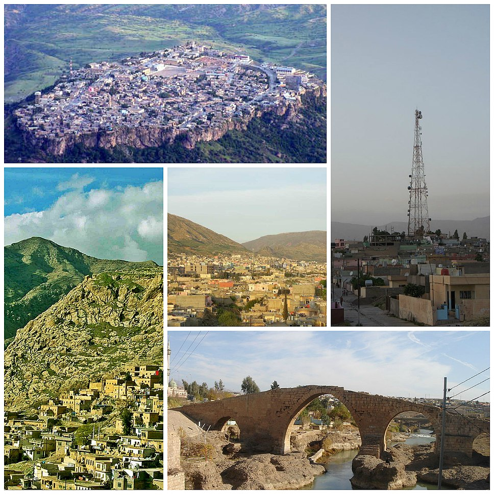 Collage of Dohuk Governorate