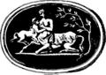 Collection choisie de desseins tirés de pierres precieuses antiques, pour la pluspart dans la possession de la grande et petite noblesse de ce royaume Fleuron T127405-34.png