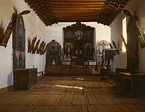 San José de Gracia Church - Image: Collier Trampas