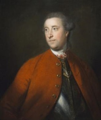 64th (2nd Staffordshire) Regiment of Foot - Major-General John Barrington, first colonel of the regiment, by Sir Joshua Reynolds