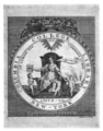 Columbia College Library allegorical bookplate.png