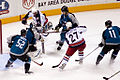 Columbus Blue Jackets vs. San Jose Sharks March 2007.jpg