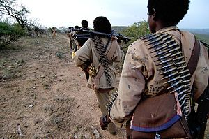 Ogaden National Liberation Front - ONLF rebels