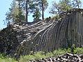 Columnar Basalt Devil's Postpile California.JPG
