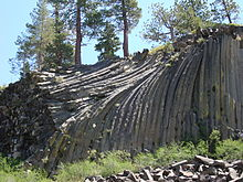 List Of Places With Columnar Jointed Volcanics Wikipedia