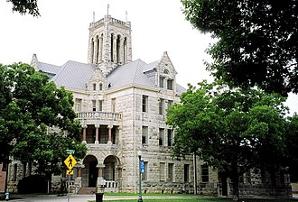 Comal County Courthouse - Comal County Courthouse in 2006