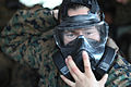 Combat Logistics Regiment 27 gas chamber training 121129-M-ZB219-047.jpg