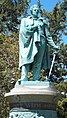 Commodore Matthew Perry Statue in Touro Park, Newport, RI.JPG
