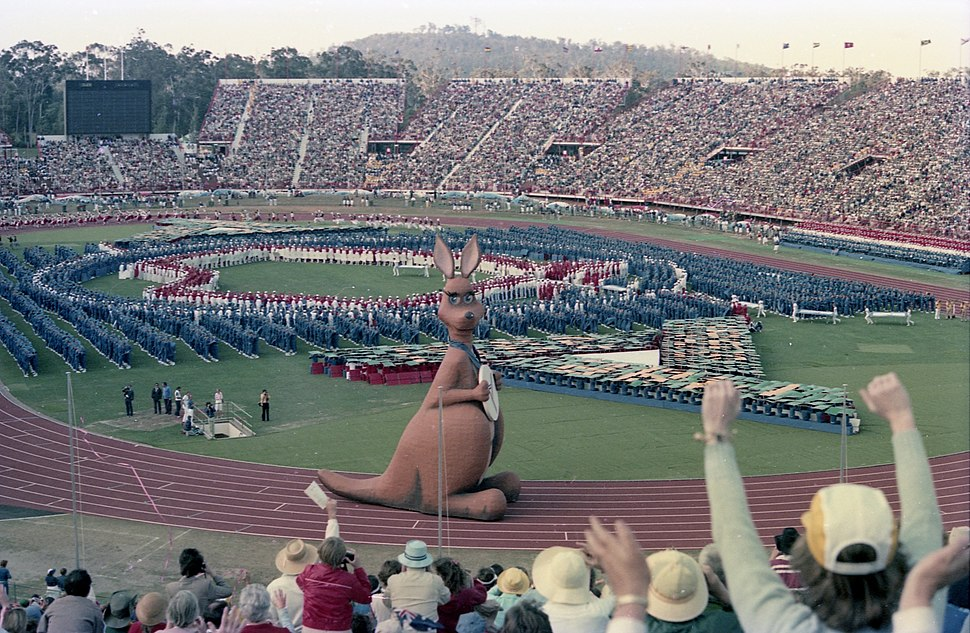 Commonwealth Games Opening Ceremony - Brisbane 1982