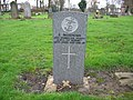 Commonwealth War Grave in Jarrow Cemetery (WW1-47) - geograph.org.uk - 1604265.jpg