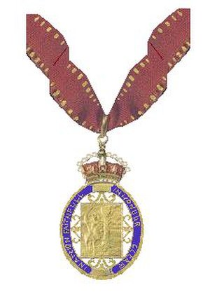 "2016 New Year Honours - The riband and badge of the ""Companions of Honour"""
