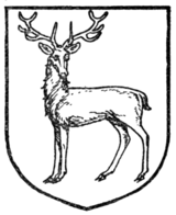 Fig. 383.—Stag at gaze.