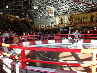 Luna Park Sydney - Interior of Coney Island
