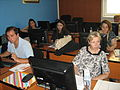 Conference on Open education and teachers' digital competences, FON, Wikipedia Workshop, 2014-4.jpg
