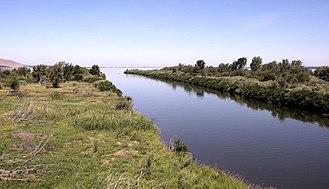Walla Walla River - Confluence of the Walla Walla and the Columbia rivers.