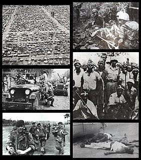 Congo Crisis 1960–1965 war fought in the Congo